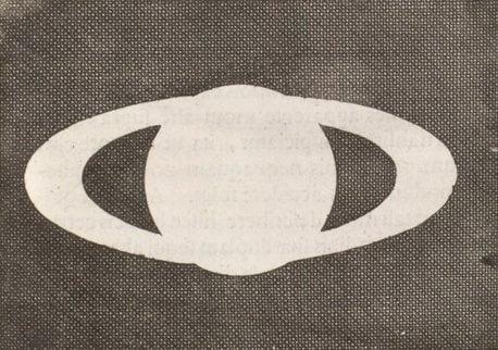 Diagrama de Saturno realizado por Huygens