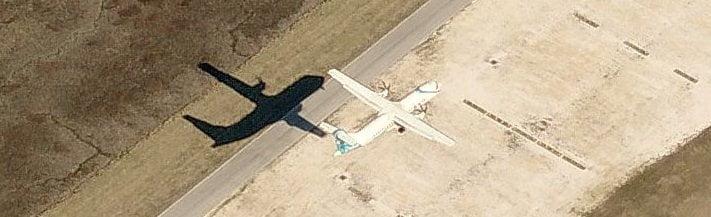 Sombra de un avión