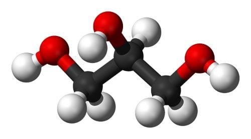 Molécula de glicerina
