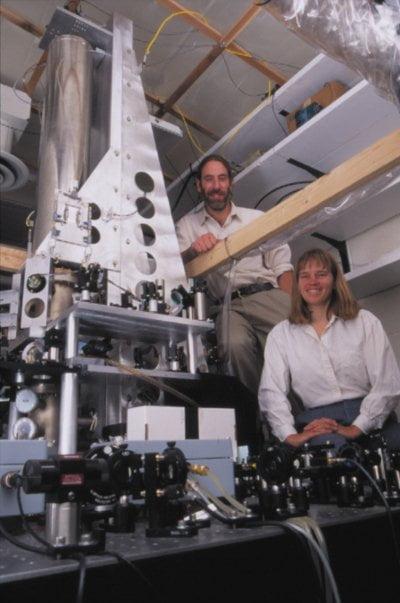 El reloj atómico NIST-F1