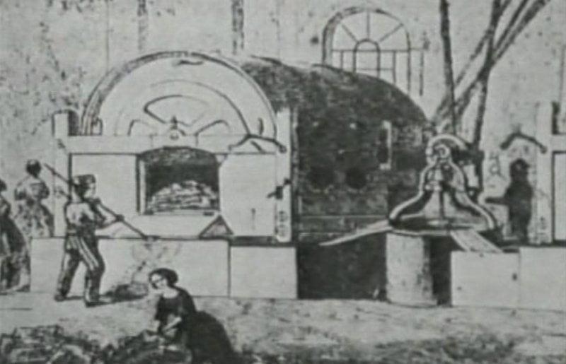Lavandería del siglo XIX.