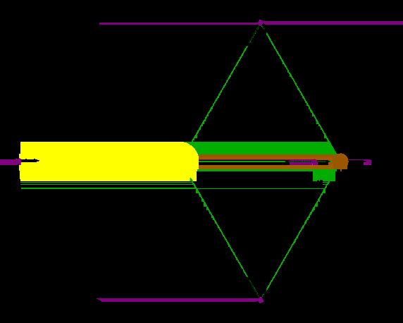 Los cinco puntos de Lagrange (¡nada está a escala!).
