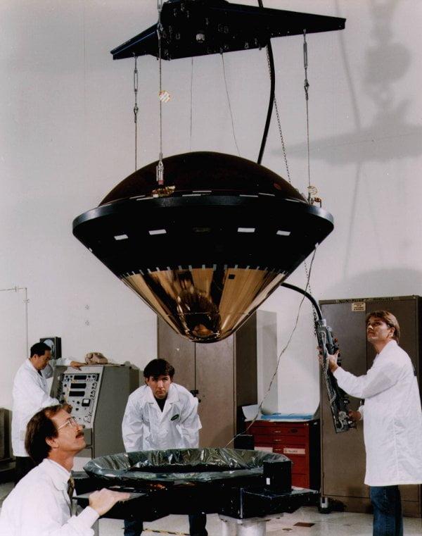 Galileo durante su preparación