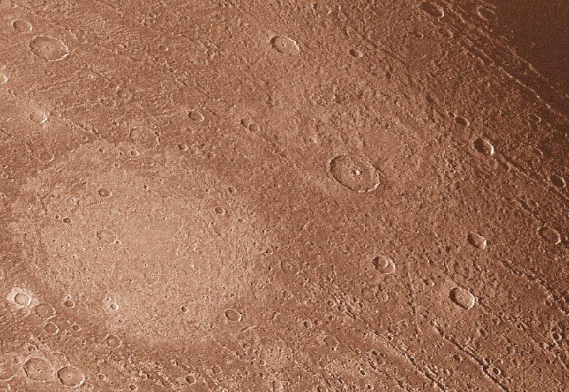 Cráteres de Ganímedes