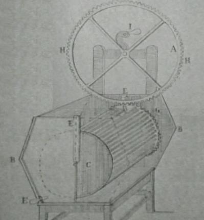 Diseño de la lavadora de Henry Sidgier