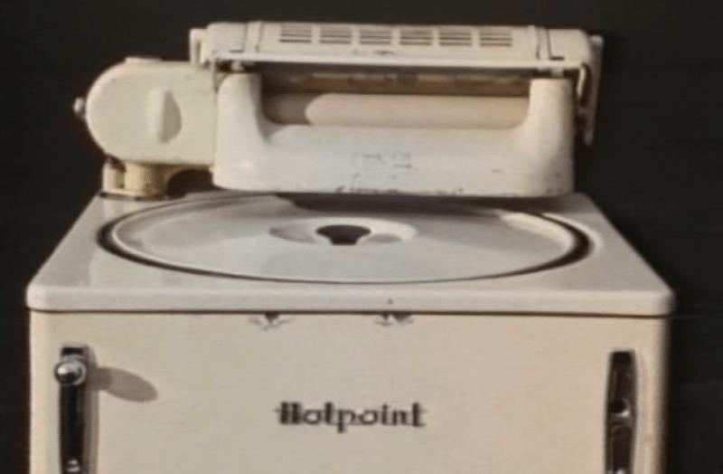 Una de las primeras lavadoras con todo el sistema dentro