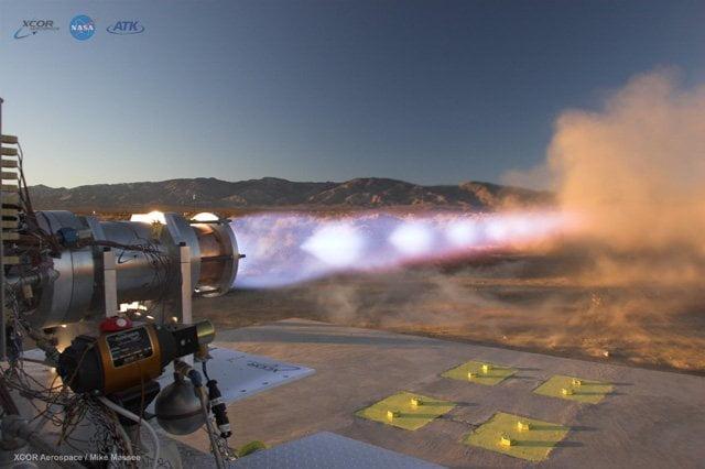 Cohete de metano-oxígeno