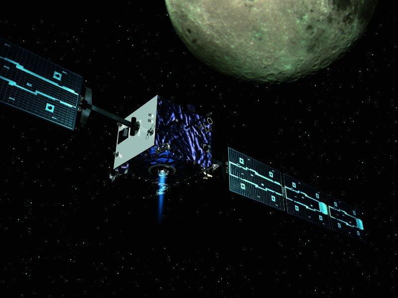 Visión artística del SMART-1(ESA).